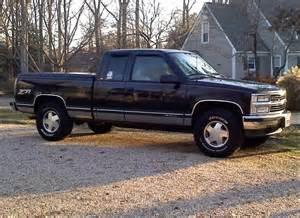 Chevrolet Silverado 1998 97 Black Chevy Z71 1998 Chevrolet Silverado 1500
