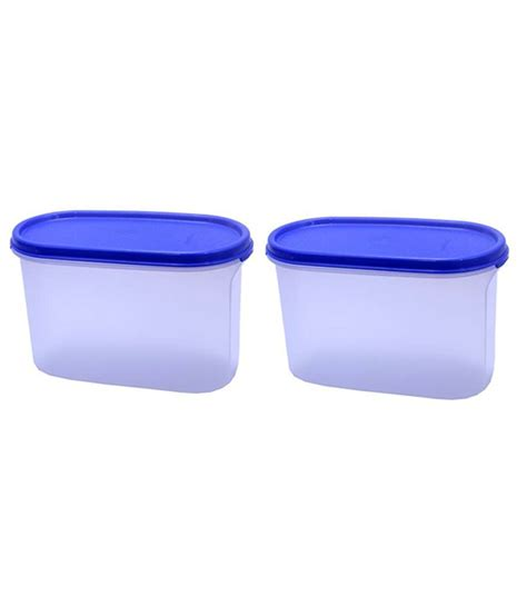 Tupperware Modular Mates Oval 1 2 tupperware modular mates oval 2 1 1ltr 2 pcs buy at best price in india snapdeal