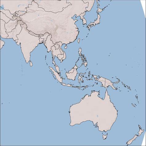 asia australia map asia and australia map