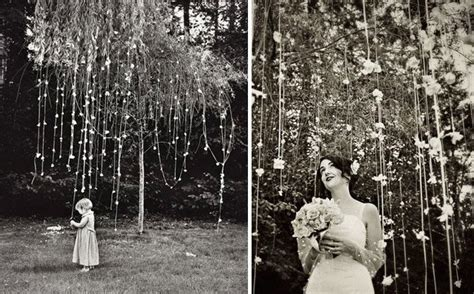 how to throw a backyard wedding wedding tree decorations romantic decoration