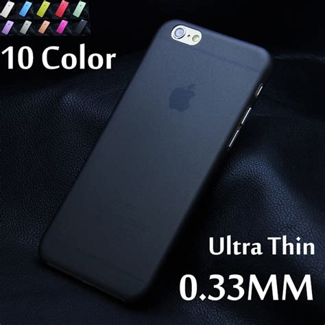 iphone 6 ultra thin 0 3mm 1pcs matte transparent ultra thin 0 3mm back for