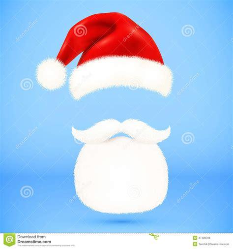 imagenes de santa claus malvado el sombrero la barba y los bigotes de pap 225 noel rojo del