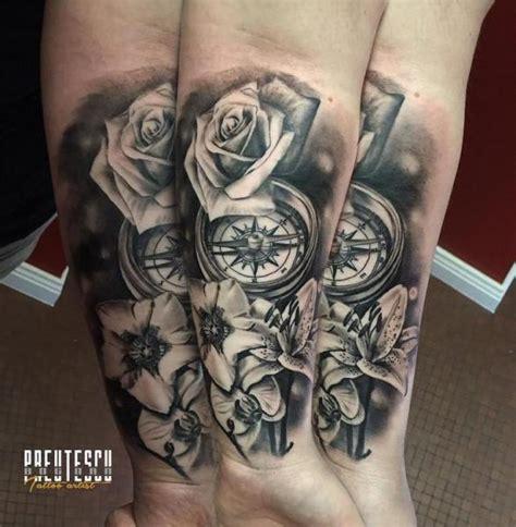compass tattoo lounge compass tattoo lounge tatuaggio bussola e rose tatuaggio