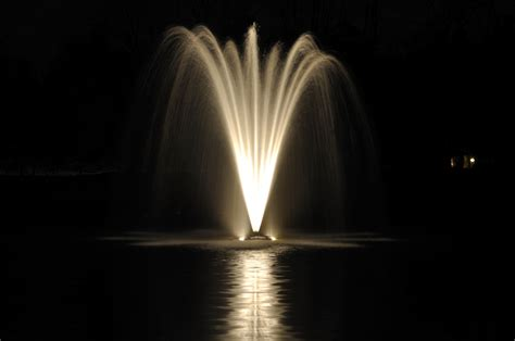 pond fountain with lights led pond light fountain light single color 9 watt