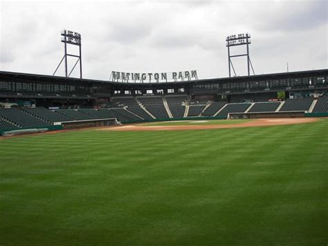 huntington park left field seating picture of huntington park columbus tripadvisor