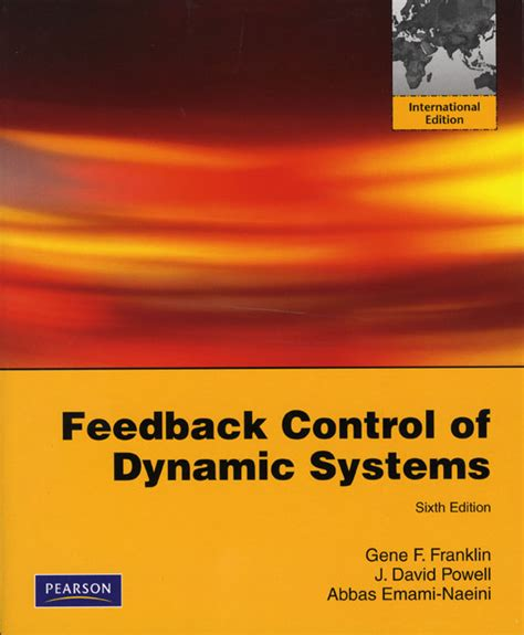 feedback of dynamic systems 8th edition what s new in engineering books pearson education higher and professional education bookshop