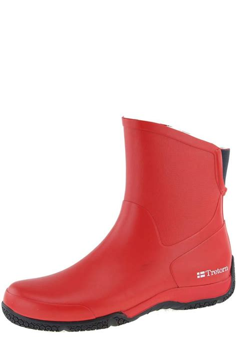 tretorn hovdala winter ankle rubber boots a lined