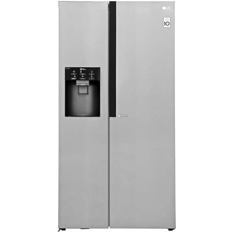 Freezer Lg Second lg gsl560pzxv american fridge freezer stainless steel