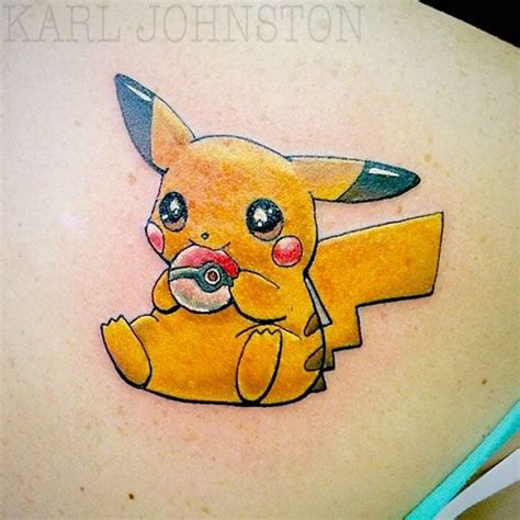 small pokemon tattoos pikachu small tattoos