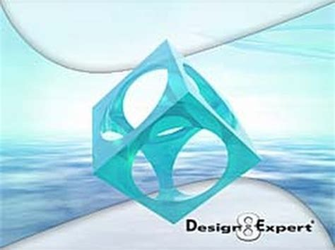 how to use design expert 7 design expert 8 0 7 1 design steps youtube