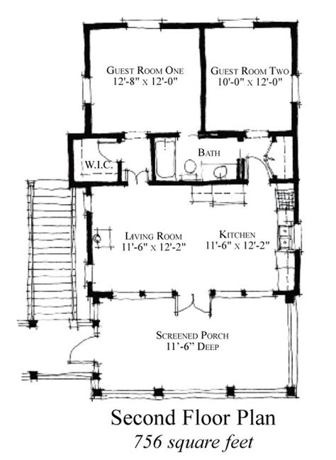 medcottage floor plan house plan 73881 at familyhomeplans com