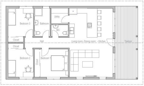 imagenes de planos de casas planos de casas de 110 metros cuadrados