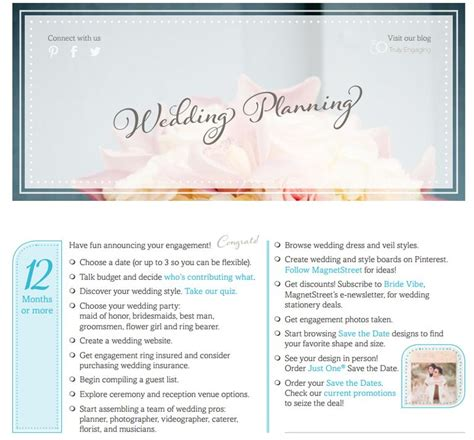 Wedding Checklist Free by 11 Free Printable Checklists For Your Wedding Timeline