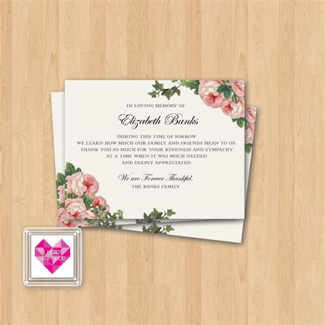 thank you card wedding thank you cards for funerals sympathy samples