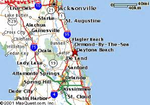 daytona map florida daytona fl map