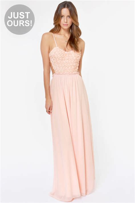 Lulus Exclusive Offer Get 15 On Fab Clothes by Beautiful Pink Dress Backless Dress Maxi Dress Prom