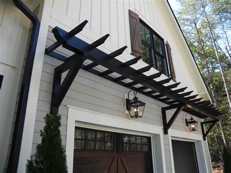 Pergola Over Garage Door » Home Decoration