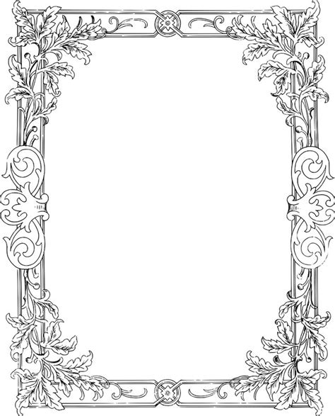 coloring page border 96 free coloring page borders love page borders