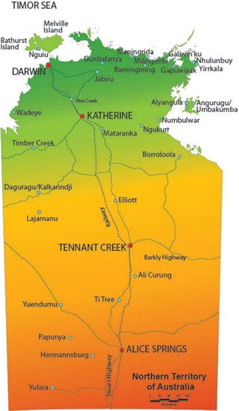 map northern australia 17 best images about bekannte orte springs on