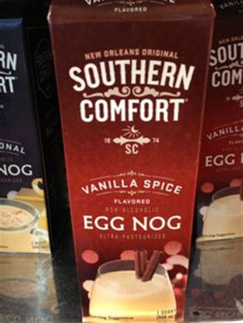 southern comfort with eggnog vanilla spice egg nog recipes on pinterest