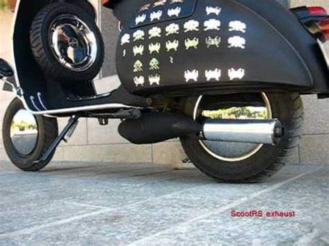 Tuni Maudy vespa scootrs exhaust p200e engine how to save money