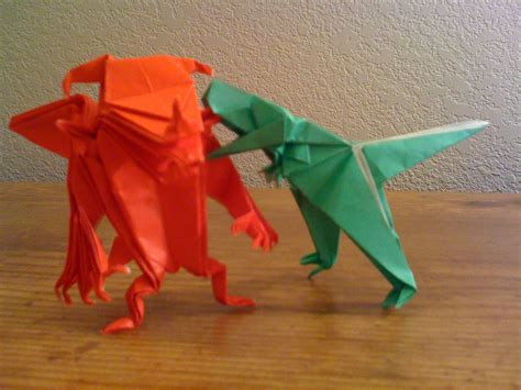 Origami Monsters - why origami monsters always gotta fight betsy s eclection