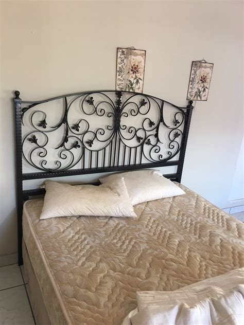 Wrought Iron Headboard For A Double Bed Amazing Gates Wrought Iron Headboard