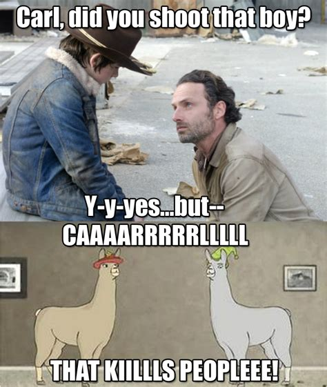 Walking Dead Meme Season 3 - walking dead carl meme season 3 image memes at relatably com