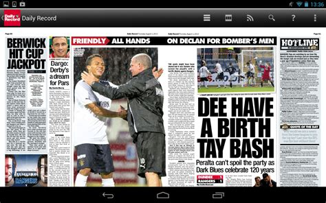 daily record newspaper android apps on play