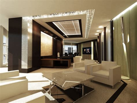 Wonderful Luxury Offices Interior Design Asymetrical ... Fancy Office