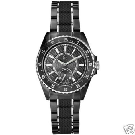 Gc Guess Collection Black 1 guess collection gc sport class 33003l1