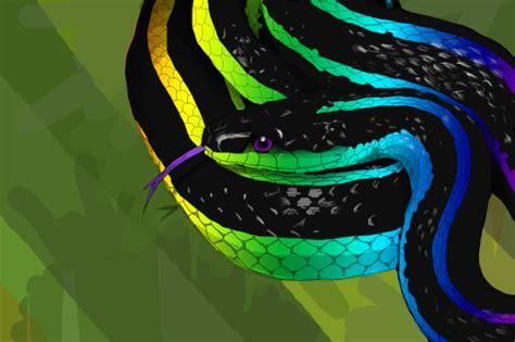 Shop With Loft by Rainbow Snake By Callofthemastodon On Deviantart