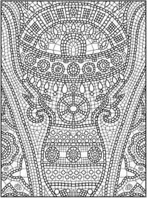 mosaic coloring pages free mosaic coloring pages for gt gt disney coloring pages