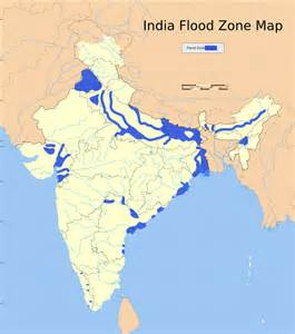 flood zone map 14 important maps of india physical and political map
