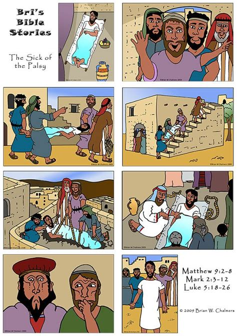 Wedding At Cana For Ks1 by Craft Of Jesus Healing Paralytic Medium Resolution