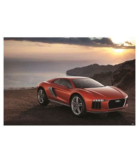 Audi Poster by Buy Audi Car Poster Ps00000243 At Best Price