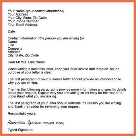 business letter format c o business letter format sle bio exle