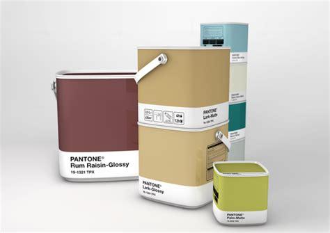 pantone paint cans pantone home paint concept the dieline packaging