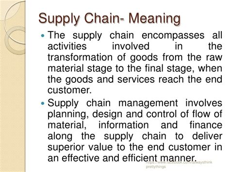 Mba Vs Supply Chain Management by What Is The Meaning Of Chain Driverlayer Search Engine