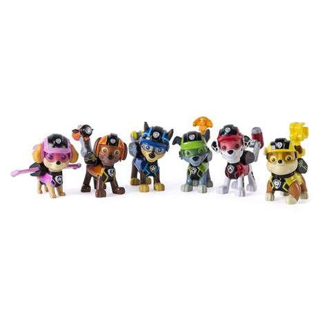 Figurine Paw Patrol figurine pat patrouille paw patrol mission paw pack