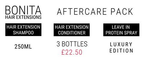 hair extensions aftercare hair extension aftercare pack