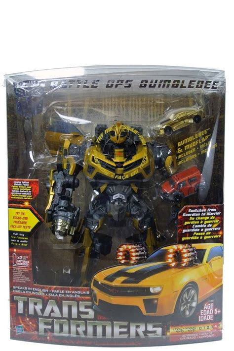 Transformers Deluxe Exclusive Canister Bumblebee transformers 2010 battle ops bumblebee costco exclusive redeco mib