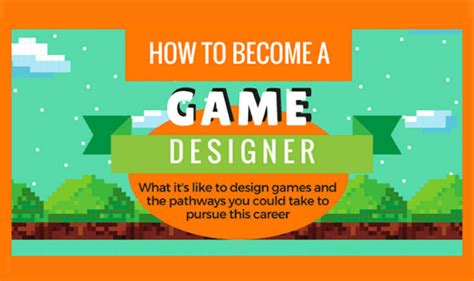 game design info how to become a game designer infographic visualistan