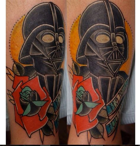 last angels tattoo vader wars by last best
