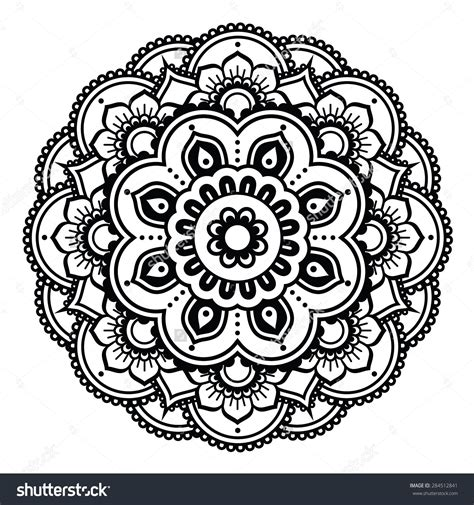henna design patterns indian henna tattoo pattern or background mehndi design