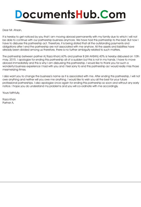 business apology letter ending apology letter for ending partnership documentshub