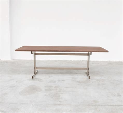 exclusive wenge dining table by jules wabbes vintage