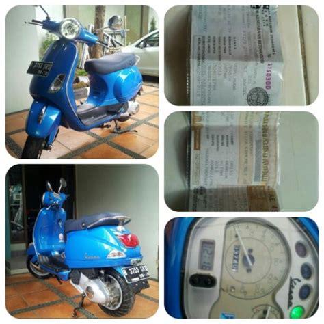 Vespa Lx 150ie Tahun 2013 p lx 150ie 3v 2013 1st km 3700an helm jual motor bekas