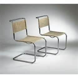 marcel breuer b33 side chairs pair thonet germany