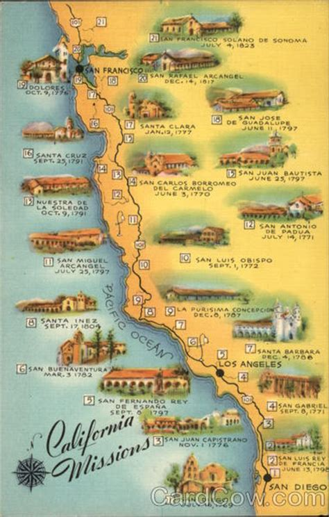 california missions map map of california missions other california cities